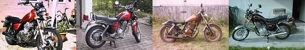 Suzuki GN Fotoleiste
